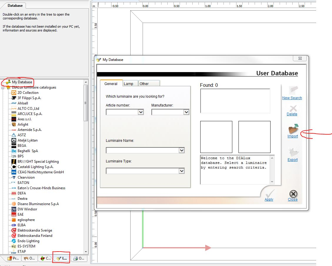 I can not import IES file - DIALux evo board